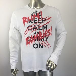 Hybrid Threads Thermal Zombies Long Sleeve Tee XL